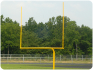 goal post paint for football soccer goals
