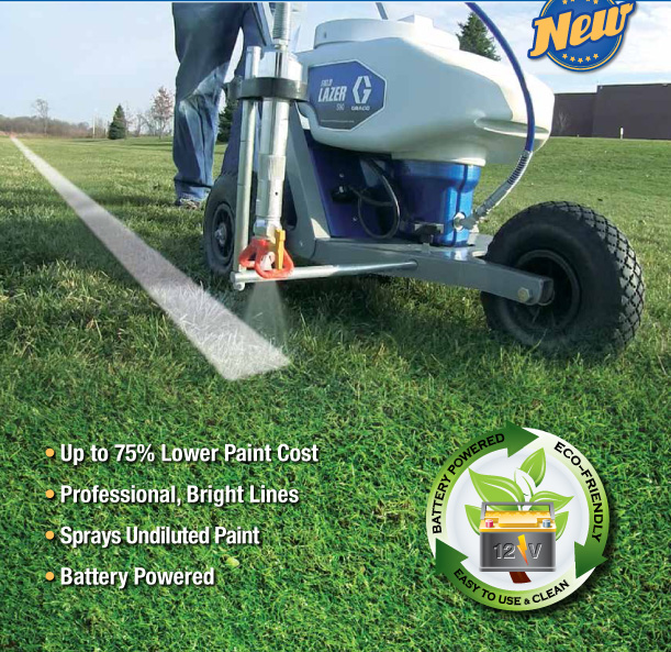 Graco airless spray traffic field marking machines