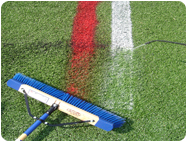 plastic artificial turf Removable paints