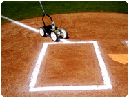 baseball lines, infield dirt paint,DURA STRIPE, DURASTRIPE, Aerosol, Field, Marking, paint, turf, durable, lowest price, high solids, wont kill grass, brightest white, Light blue, Handicap Blue, Navy blue, Royal Blue, Black, Gray, Red, Cardinal Red, Kelly Green, Turf Green, White, Purple, Royal Purple, Maroon, Orange, Fluorescent Orange, Brown, Pink, Fluorescent Pink, Yellow, Old Gold, Vegas Gold, Teal, BEST PAINT, BEST PRICE, aerosol paint for baseball field,
